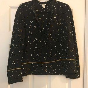 Polka dot blouse 3 for $18